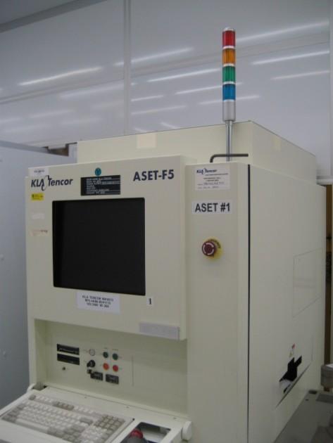Kla Aset F5 Thin Film Measurement Csi Semi Used And