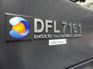 Disco Dfl7161 Laser Wafer Saw Used Semiconductor