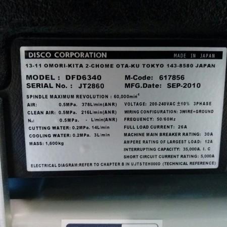 DISCO DFD6340