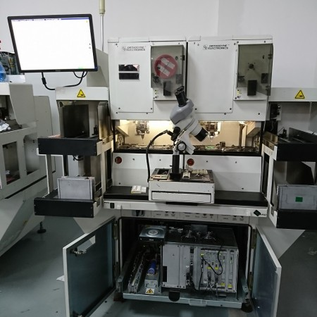 Orthodyne M7200 dual head heavy wire bonder